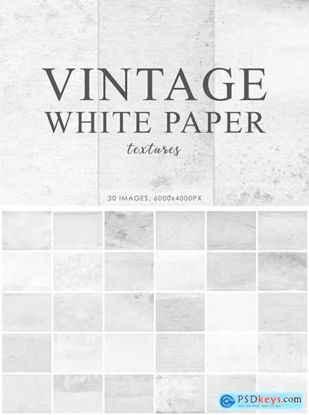 White Vintage Paper Textures