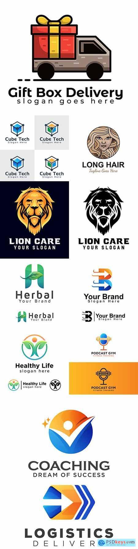 Brand name company logos business corporate design 11