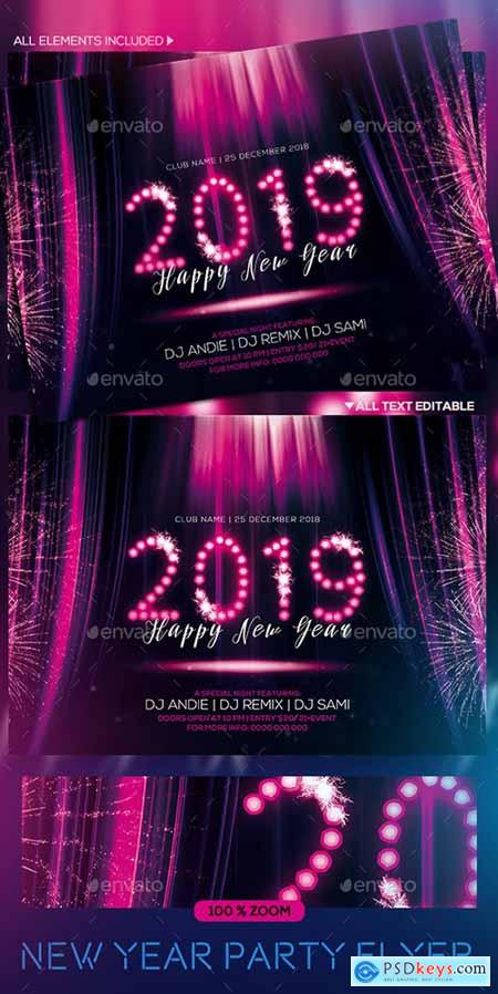 New year Party Flyer 22931759