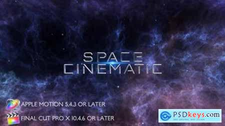 Space Cinematic Titles Apple Motion 27804958