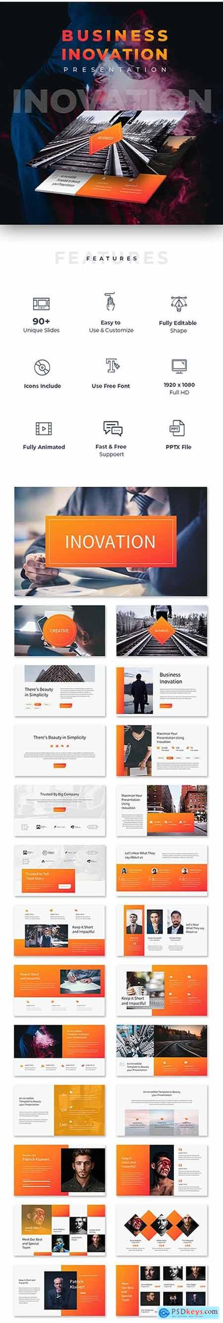 Business Inovation Powerpoint Template 22919959