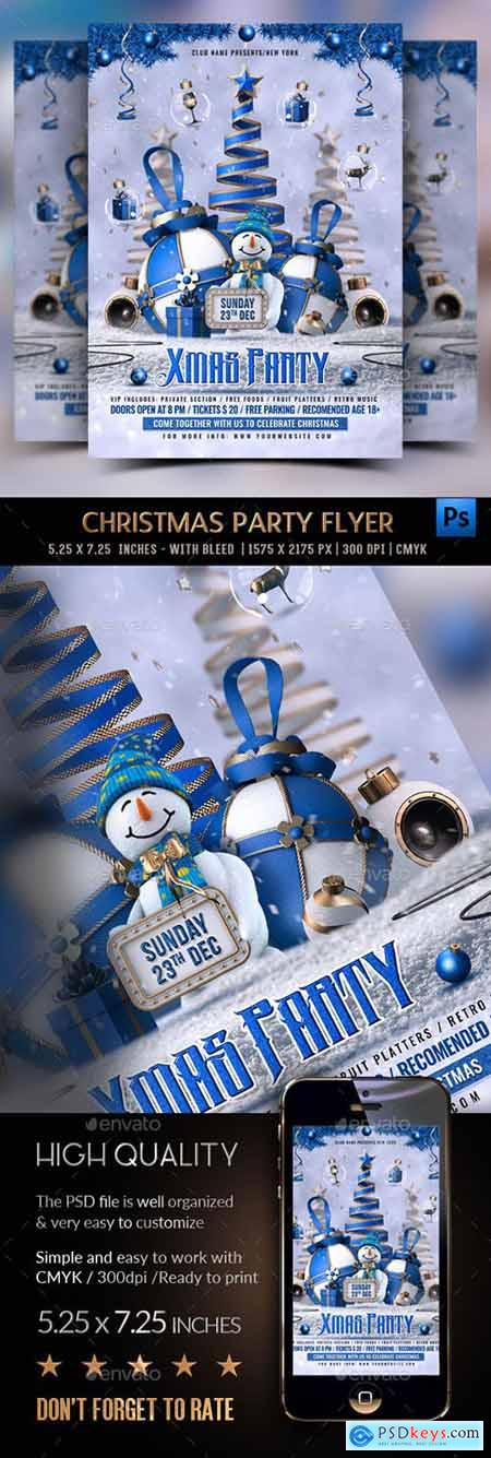 Christmas Party Flyer 22922851
