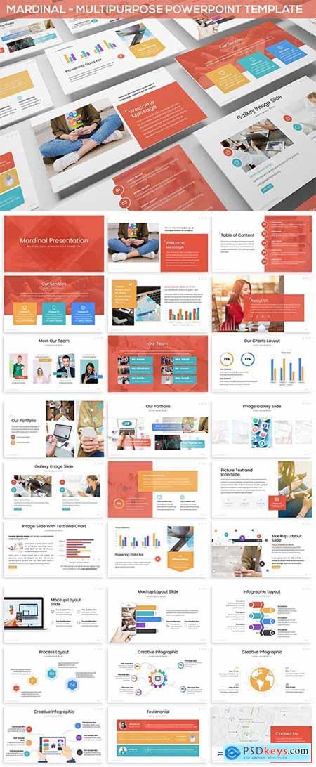 Mardinal - Multipurpose Powerpoint Template