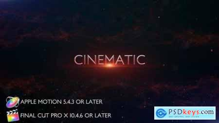 Cinematic Trailer Titles Apple Motion 27804974