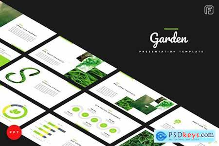 Garden Creative Powerpoint, Keynote and Google Sliders Templates
