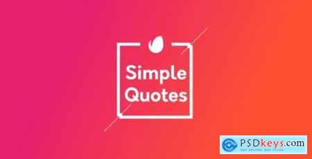 Simple Quotes 20608220