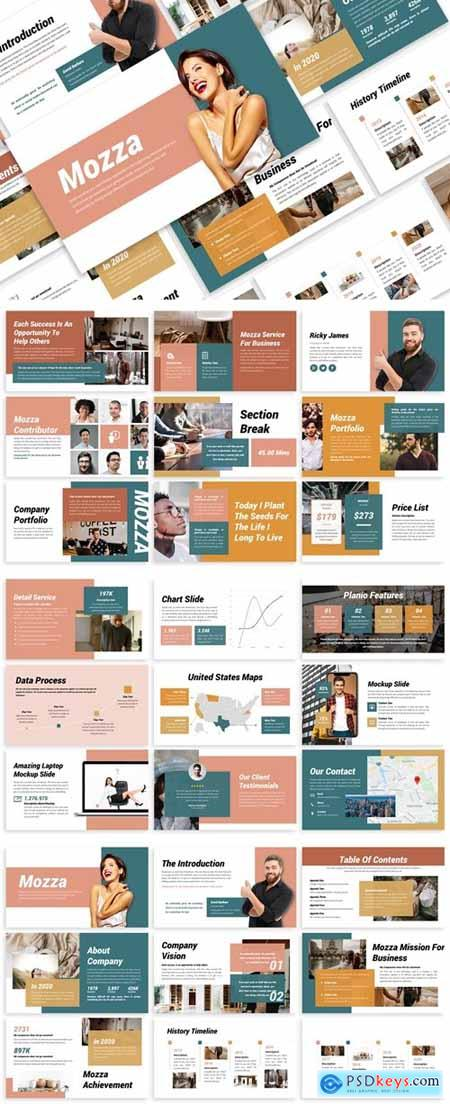 Mozza - Business Template Presentation