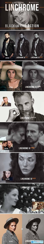 Linchrome Black & White Action +LUT 5199067