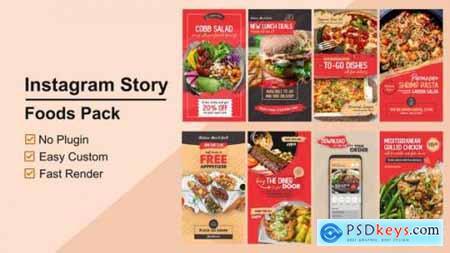 Foods Instagram Stories V12 27802574