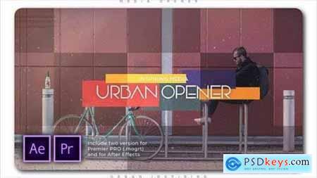 Urban Inspiring Media Opener 27805099