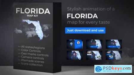 Florida Map Florida Map Kit 27817848