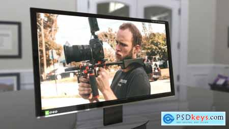 3D Computer Monitor 20153315