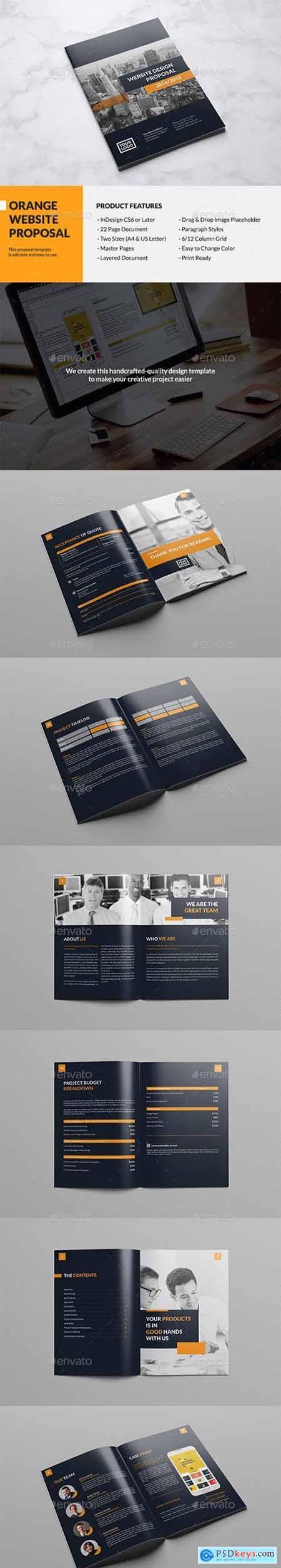 Orange Website Proposal 13001654