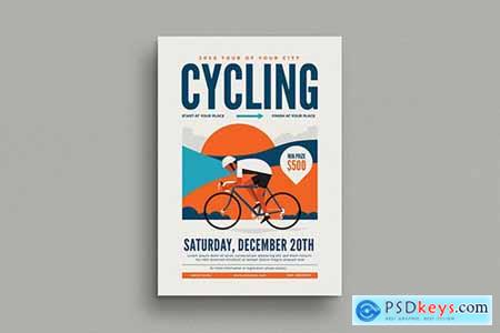 Cycling Event Flyer