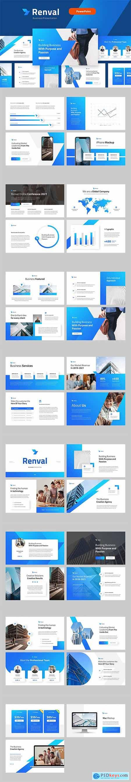 RENVAL - Business Marketing Powerpoint Template