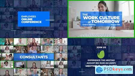 Online Meeting Video Conference Promo 27818218
