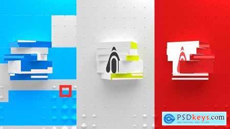 Minimal Cubic Logo Reveal 27616782