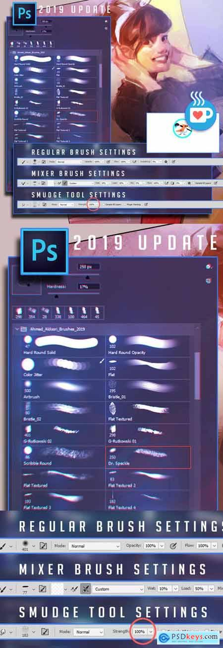 Drawing Photoshop Brushes - 2019 Update