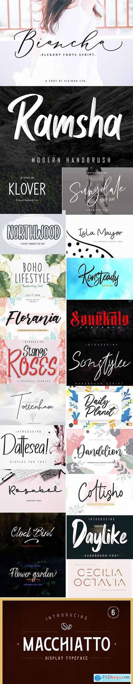 Download Creative Fonts Pack June-2020 - 23 Fonts » Free Download ...