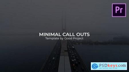 Minimal Call Outs 24921442