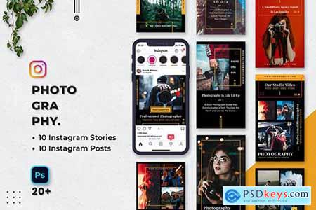 Photography Instagram Stories & Posts