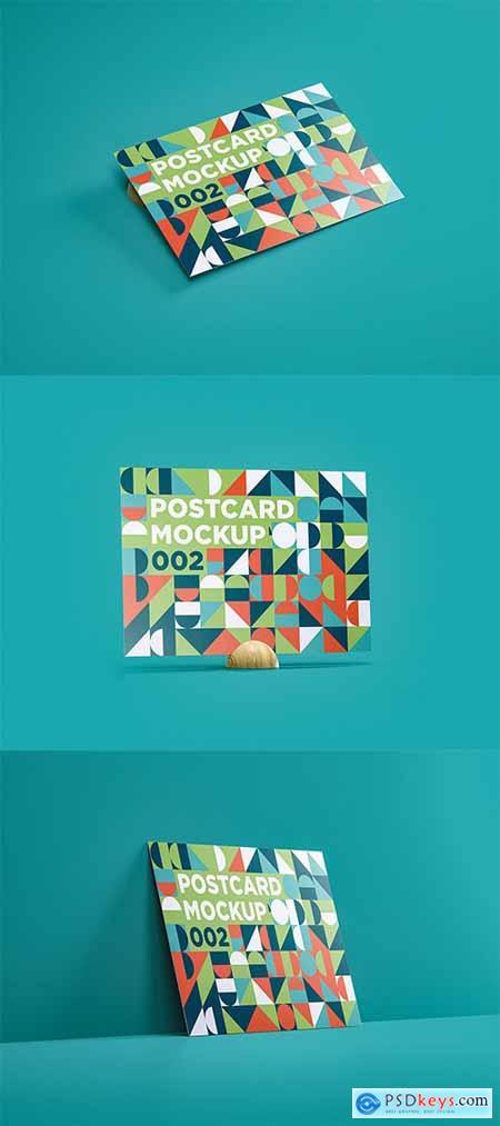 Postcard Mockup 002