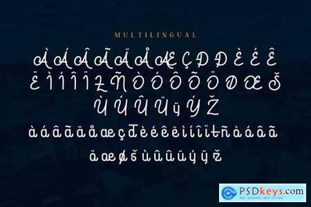 Dungeons - Vintage Monoline Script Font