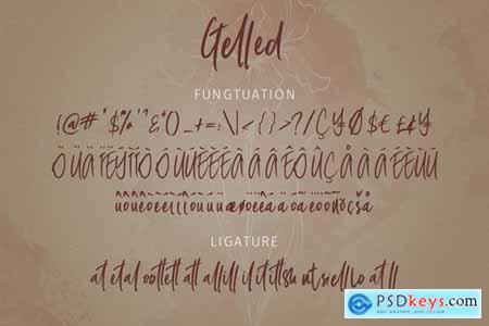 Gelled Script