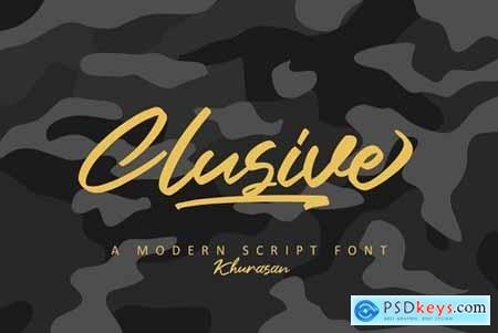 Clusive Signature Stunning Script Fonts 5188664