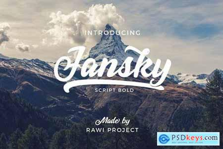 Jansky Casual Script 5170689