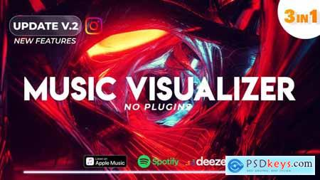 Music Visualizer Spectrum V2 25505054