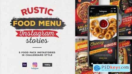 Rustic Food Menu Instagram Stories 27915956