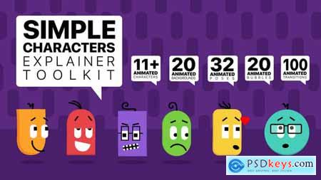 Simple Characters Explainer Toolkit 26245201