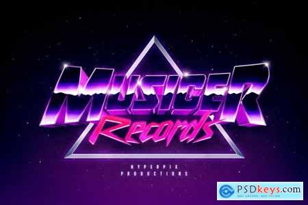 80s Text and Logo Effects Vol.5 5226111