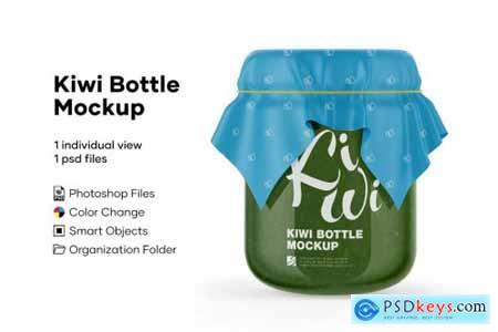 Kiwi Bottle Mockup 5224093