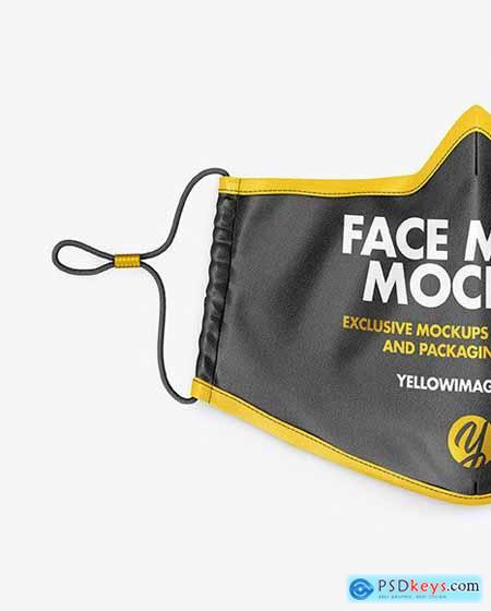 Face Mask Mockup 63701