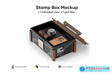 Stamp Box Mockup 5224115