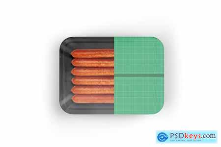 Organic Sausages Mockup 5242216