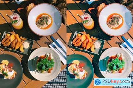 Food Blogger Mobile & Desktop Lightroom Presets