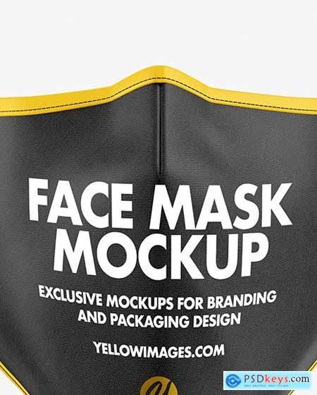 Face Mask Mockup 63574
