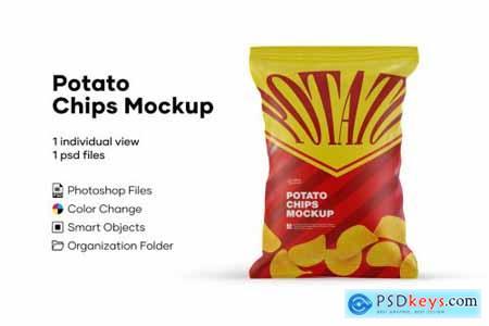 Potato Chips Mockup 5224104