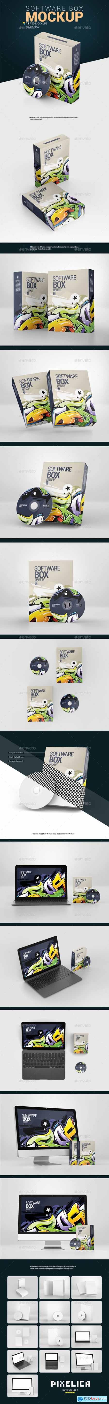Software Box Mockup 27279988