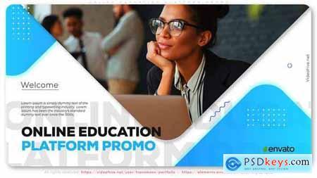 Online Education Platform Promo 27822446