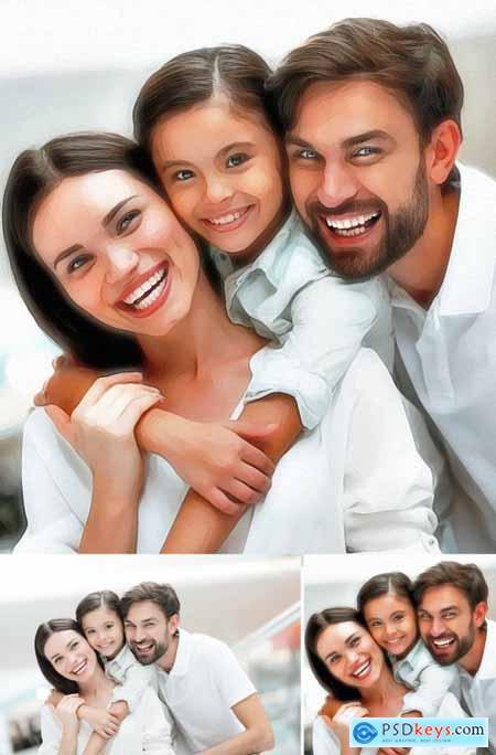 Paint Photoshop Action 5183417