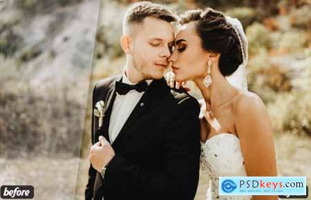 Moody Wedding Lightroom Presets 5125346