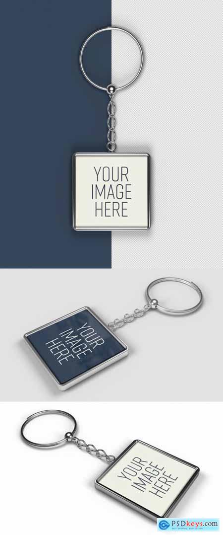 Keychain Mockup 368533892
