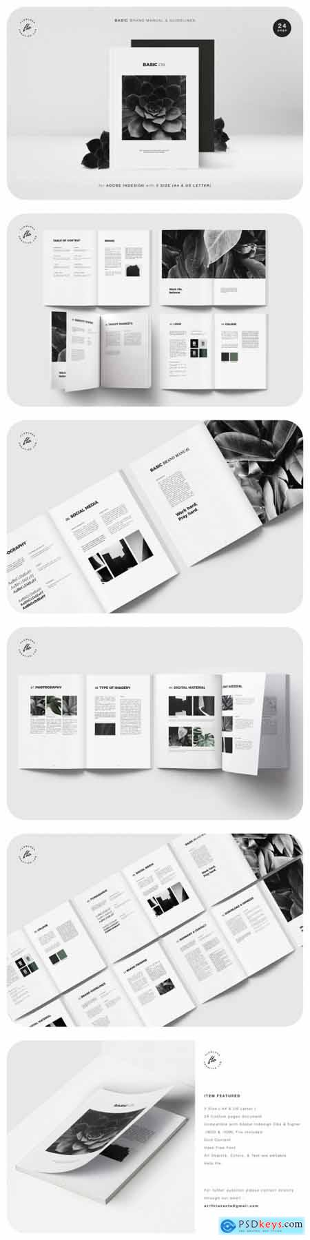 Basic Brand Manual & Guidelines 2591324