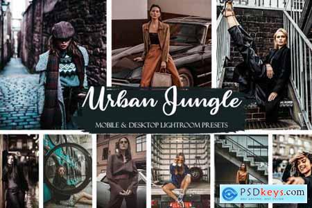 Urban Jungle Mobile & Desktop Presets Street ligthroom presets