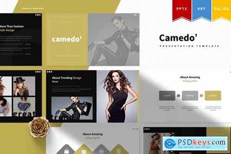 Camedo - Powerpoint, Keynote, Googleslide