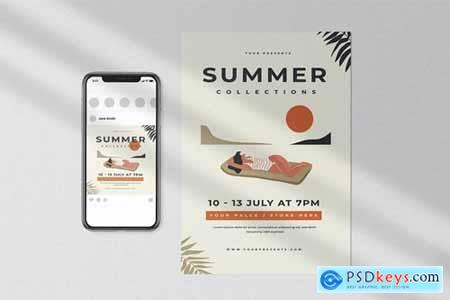 Summer Collection Flyer